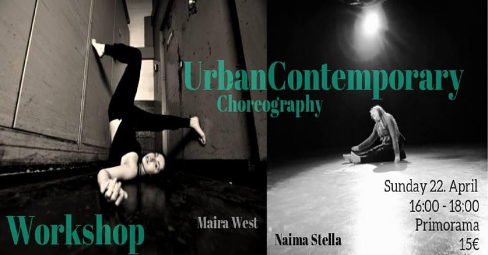 UrbanContrmporary Workshop mit Maira West und Naima Stella   21. Apr. 18   Wien