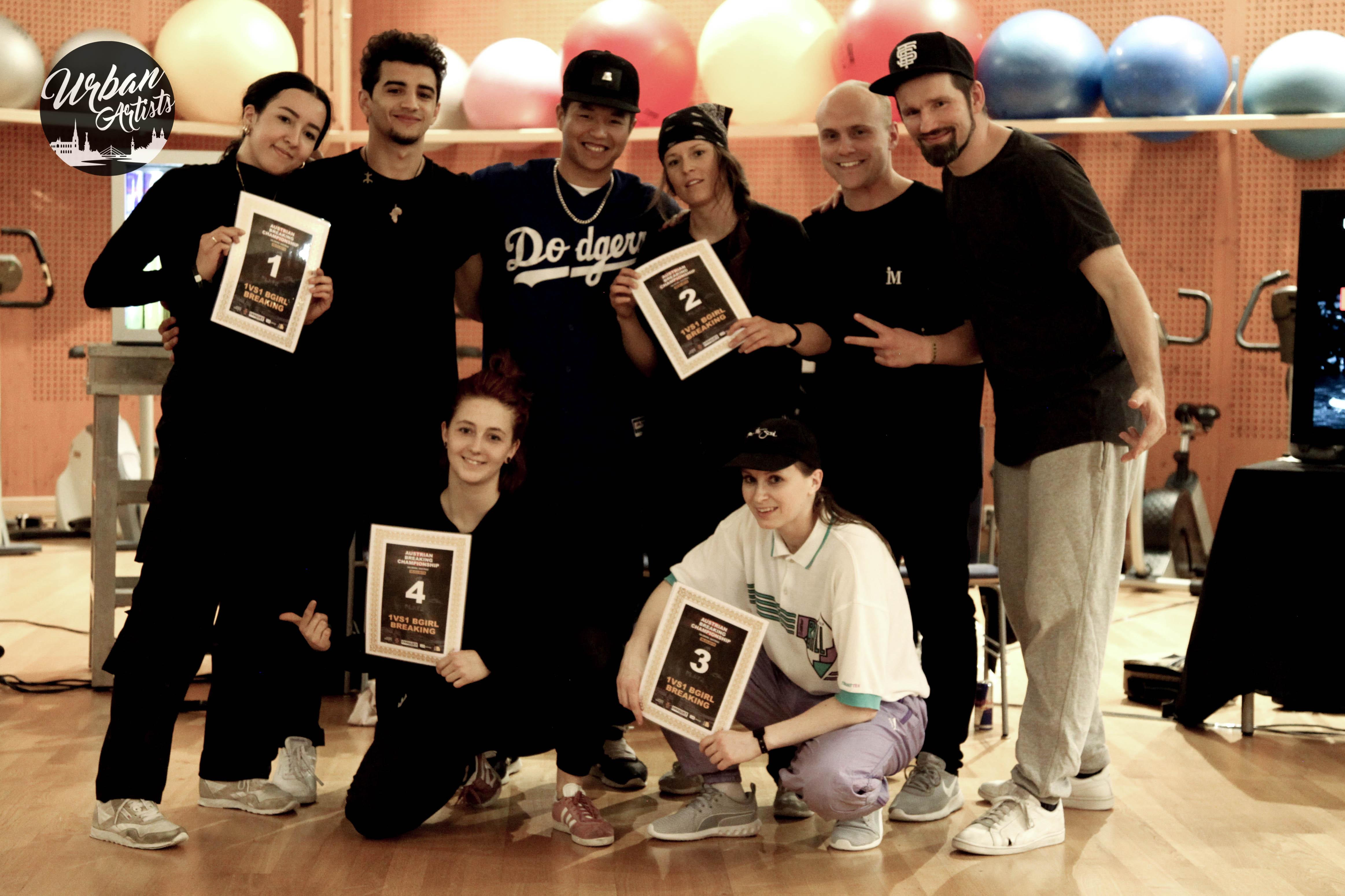B-Girl Sina auf Erfolgskurs | 1. Austrian Breaking Championships 2019