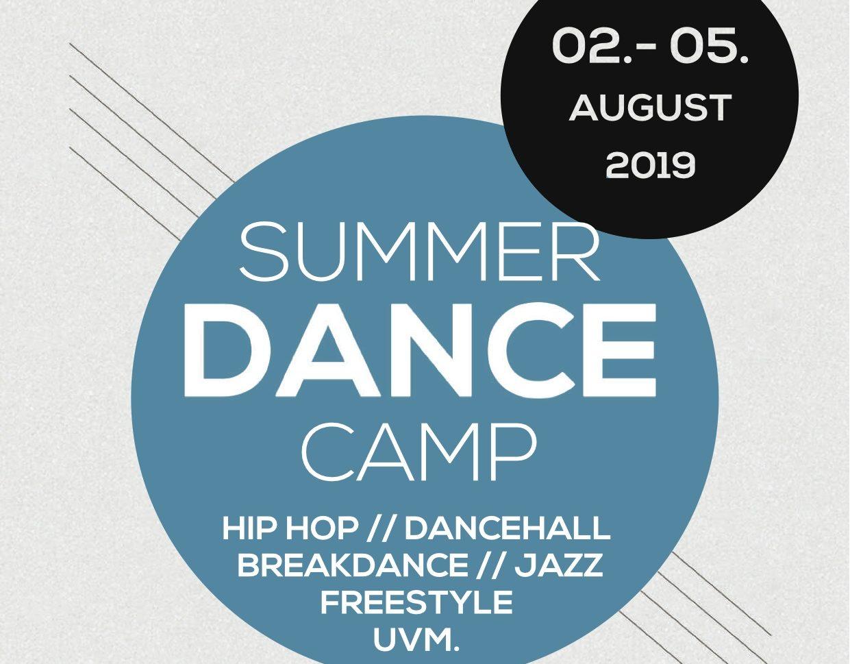 Summer Dance Camp | 2. -5. Aug. 19 | Fürstenfeld