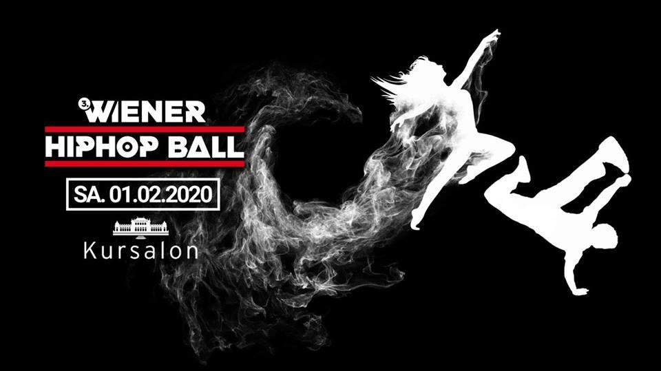 3.Wiener HipHop Ball   1. Feb. 20   Wien