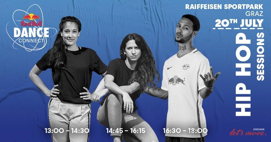 Red Bull Dance Connect Sessions with Diablo, Olivia & Farah | 20. Juli 19 | Graz