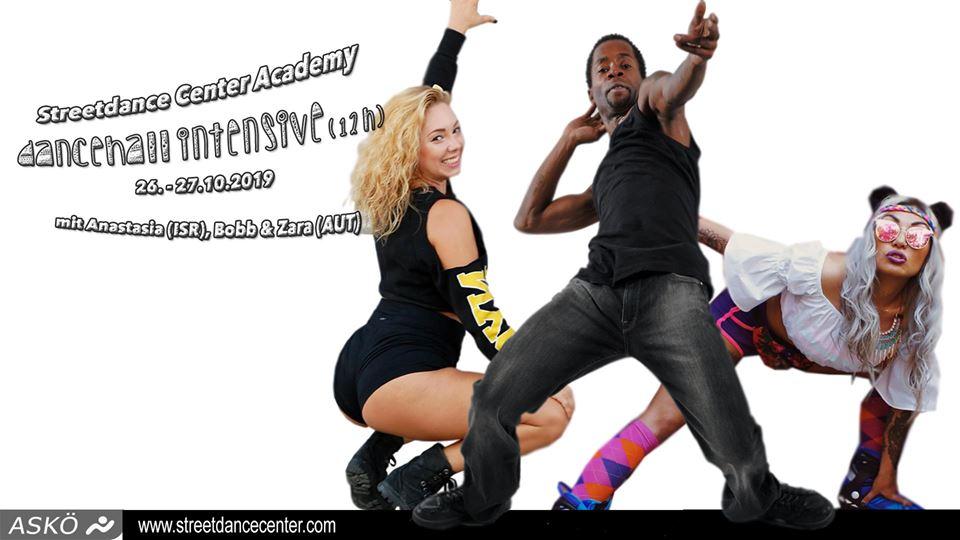 Streetdance Center Academy: Dancehall Intensive | 26. – 27. Oct. 19 | Salzburg