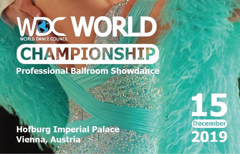 WDC World Championship – Professional Ballroom Showdance | 15. Dez. 19 | Hofburg Wien